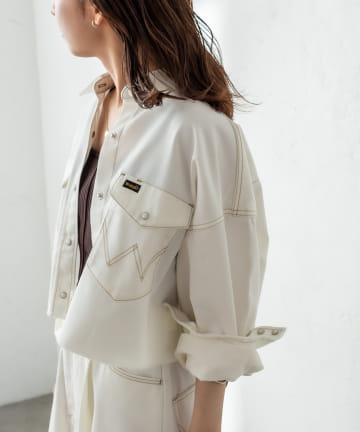 mystic(ミスティック) Wrangler別注ショートシャツジャケット