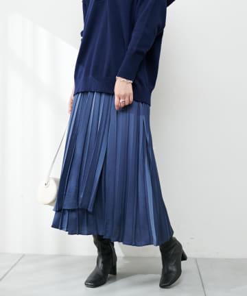 COLLAGE GALLARDAGALANTE(コラージュ ガリャルダガランテ) プリーツラップスカート