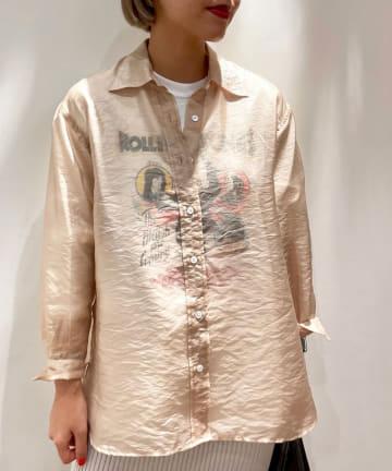 SHENERY(シーナリー) シャイニービッグシャツ