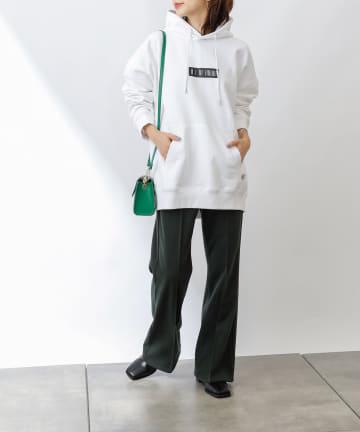COLONY 2139(コロニー トゥーワンスリーナイン) 抗菌防臭USAコットンラバープリントパーカー※ユニセックス対応