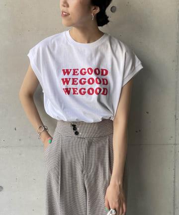 CAPRICIEUX LE'MAGE(カプリシュレマージュ) サスティナブルコットンTシャツ
