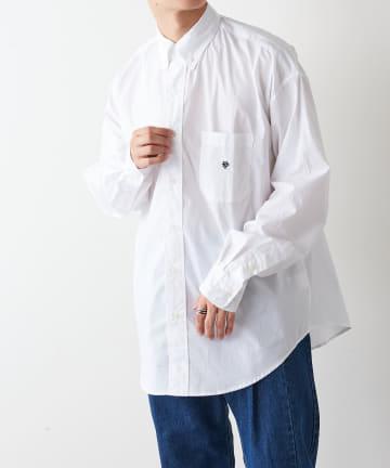 Discoat(ディスコート) ブロードレギュラービッグシャツ