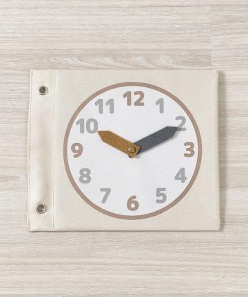 3COINS(スリーコインズ) 【楽しく学ぼう】知育シート:時計