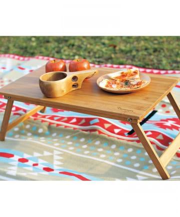 BIRTHDAY BAR(バースデイバー) バカンス 折り畳みバンブーローテーブル