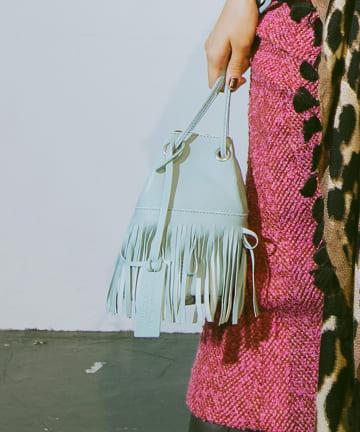 La boutique BonBon(ラブティックボンボン) 《予約》【MARCO MASI(マルコマージ)】フリンジプチバッグ