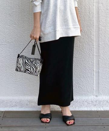 Loungedress(ラウンジドレス) ニットマキシスカート