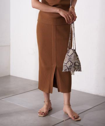 Loungedress(ラウンジドレス) ニットタイトスカート