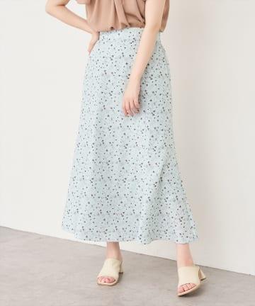 natural couture(ナチュラルクチュール) osonoオリジナルフラワースカート