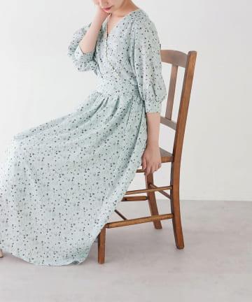 natural couture(ナチュラルクチュール) osonoオリジナルフラワーワンピース