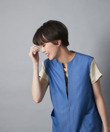 un dix cors(アンディコール) 《予約》【大人カジュアルな着こなしに最適】THRIVEプリントTシャツ