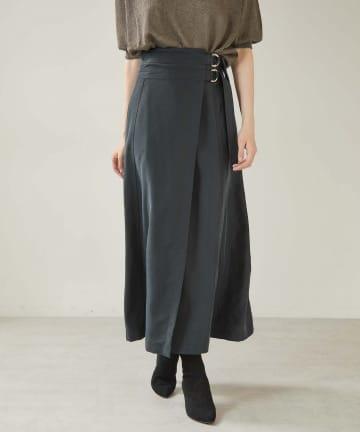 OUVRAGE CLASSE(ウヴラージュクラス) ダブルカンフィブリルロングスカート