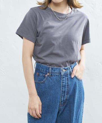 CIAOPANIC(チャオパニック) オーガニックコットンクルーTシャツ