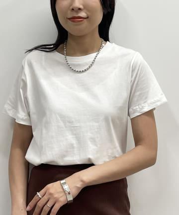Loungedress(ラウンジドレス) オーガニックコットン クルーTシャツ