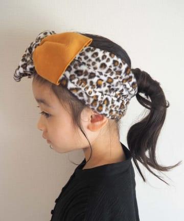 CIAOPANIC TYPY(チャオパニックティピー) 【KIDS】アニマル切り替えヘアターバン
