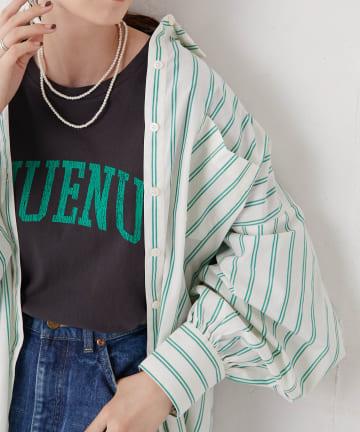 Discoat(ディスコート) ブロードビッグシャツ