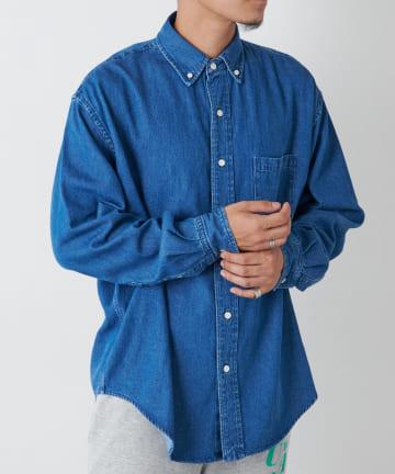 Discoat(ディスコート) デニムビッグシャツ