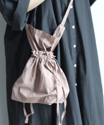 3COINS(スリーコインズ) 【小物で季節を取り入れる】 2WAY巾着バッグ