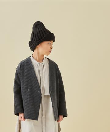 BONbazaar(ボンバザール) 【MOUN TEN.】ニットキャップ knit flight cap