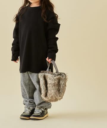 BONbazaar(ボンバザール) 【MOUN TEN.】ファーミニバッグ fur mini bag