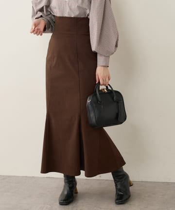 natural couture(ナチュラルクチュール) 【着用動画あり】ハイウエストマーメイドスカート Mサイズ