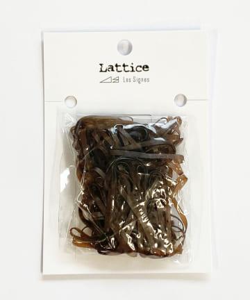 Lattice(ラティス) シリコンヘアゴム(35mm)100本SET