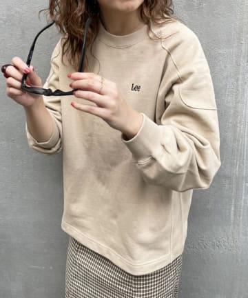 Discoat(ディスコート) 【パルクロ限定】QUILTING CONNECT SWEAT