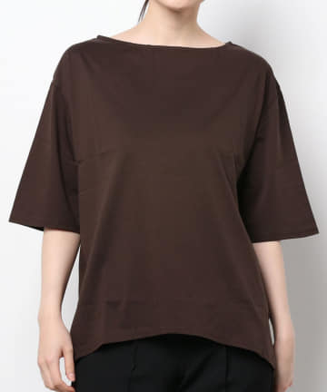 Loungedress(ラウンジドレス) シルケットコクーンTシャツ