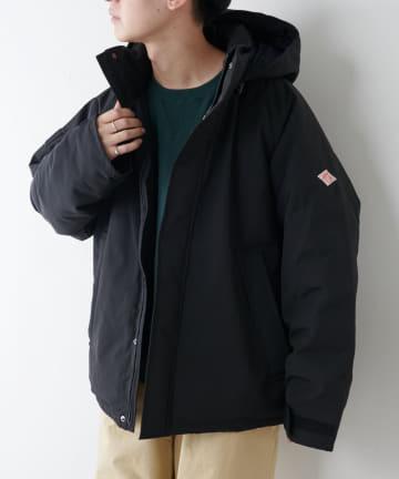 Discoat(ディスコート) 【DANTON/ダントン】ダウンアーミーフードジャケット