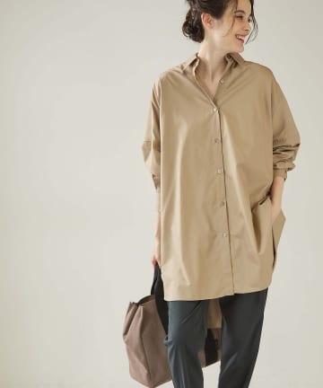 OUVRAGE CLASSE(ウヴラージュクラス) ベーシックオーバービックシャツ