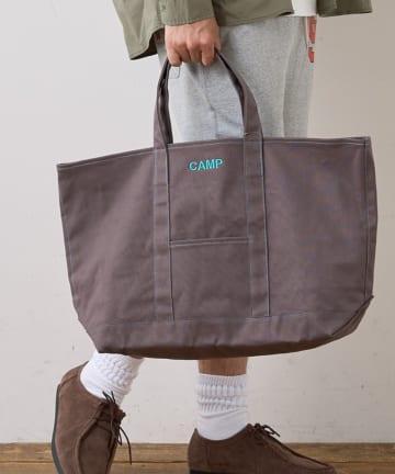 CIAOPANIC TYPY(チャオパニックティピー) ステッチ配色トートバッグ