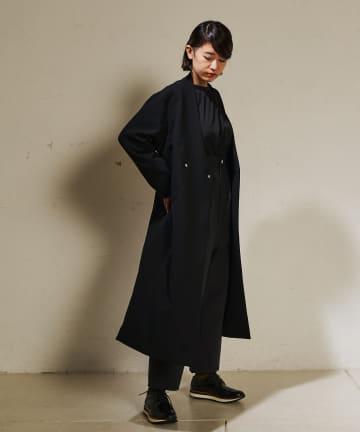 ear PAPILLONNER(イア パピヨネ) 【SUM1 STYLE(スミ スタイル)】ボタンロングジャケット