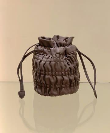 CIAOPANIC(チャオパニック) フェイクレザーシャーリングバッグ
