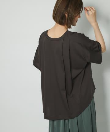 un dix cors(アンディコール) 《予約》【ニュアンスのあるシルエット】バックタックビックTシャツ