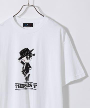 CIAOPANIC(チャオパニック) 【VARIOUS TIMELESS ARTS】トップスターM.JプリントTシャツ