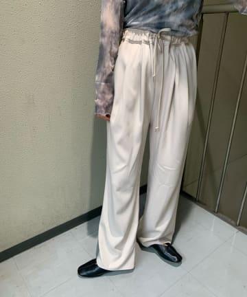 Kastane(カスタネ) 【カタログ掲載アイテム】カラバリタックジャージーパンツ