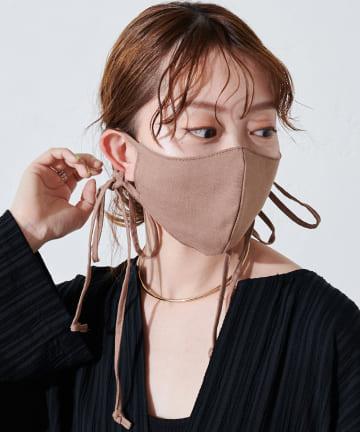 OUTLET(アウトレット) 【Discoat】【抗菌消臭】リボンストラップマスク