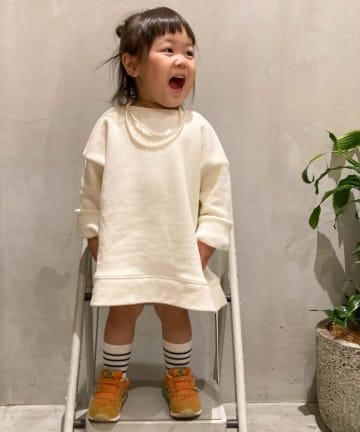 CIAOPANIC TYPY(チャオパニックティピー) 【KIDS】【OSORO】スウェードライクスウェット