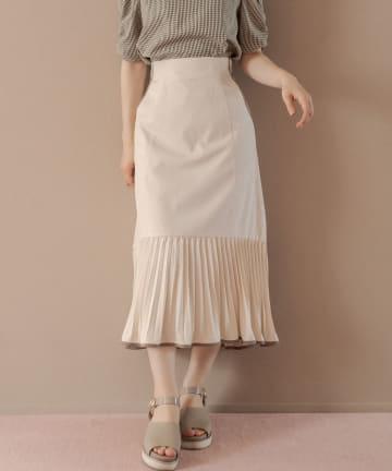 OLIVE des OLIVE(オリーブ デ オリーブ) 消しプリパイピングマーメイドスカート