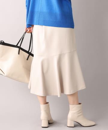 un dix cors(アンディコール) 【女性らしさを引き出す】フロントスリットマーメイドスカート