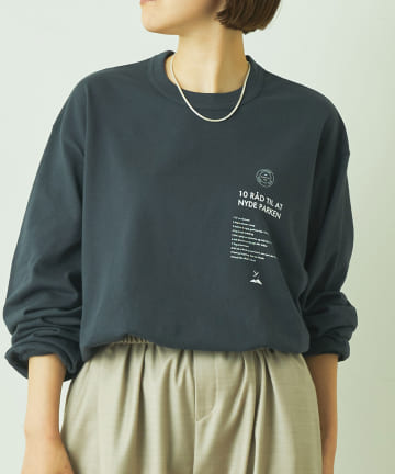 LIVETART(リヴェタート) 《Y(dot) BY NORDISK》マニフェスト長袖Tシャツ