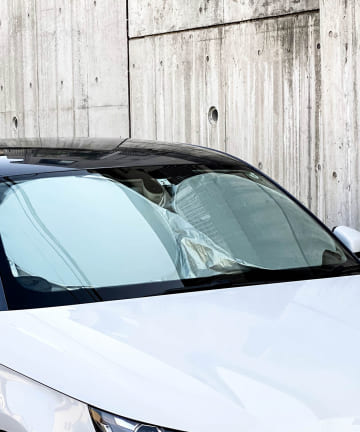 3COINS(スリーコインズ) サムネ変更前【ドライブを快適に】CARフロントサンシェード