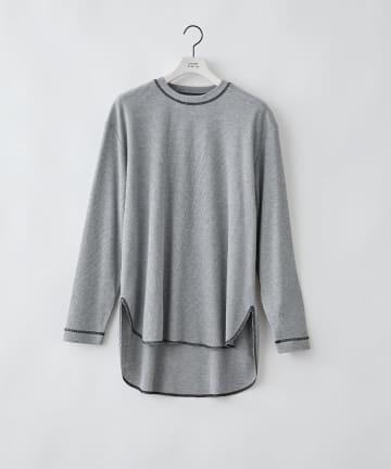 COLONY 2139(コロニー トゥーワンスリーナイン) BIGピスネームワッフル前後差長袖Tシャツ