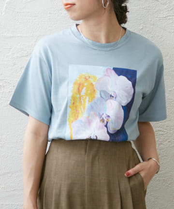 Omekashi(オメカシ) TOLIGHT drawingprint tee