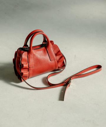 La boutique BonBon(ラブティックボンボン) 《予約》【女性の手元にぴったりのサイズ感・リパーニ】マイクロミニフリルバッグ