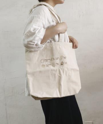 salut!(サリュ) 【Bread Market】BREADトートバッグ