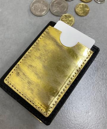 BONbazaar(ボンバザール) 【MASTER&Co.】メタリックコイン&カードケース