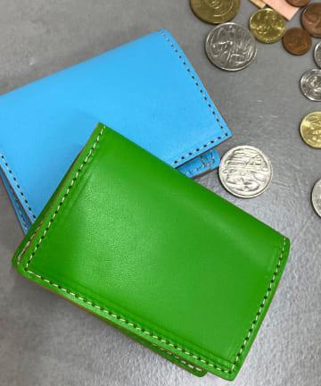 BONbazaar(ボンバザール) 【MASTER&Co.】ネオンカラーコイン&カードケース