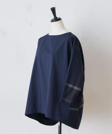 BEARDSLEY(ビアズリー) バックチェックシャツTシャツ