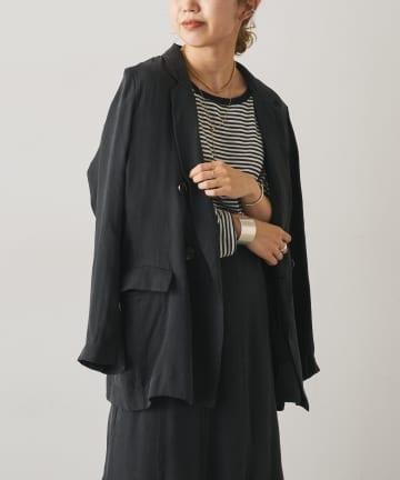 Omekashi(オメカシ) キュプラテーラードジャケット