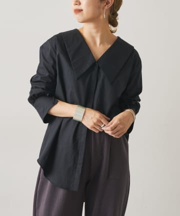 Omekashi(オメカシ) ビックカラーシャツ